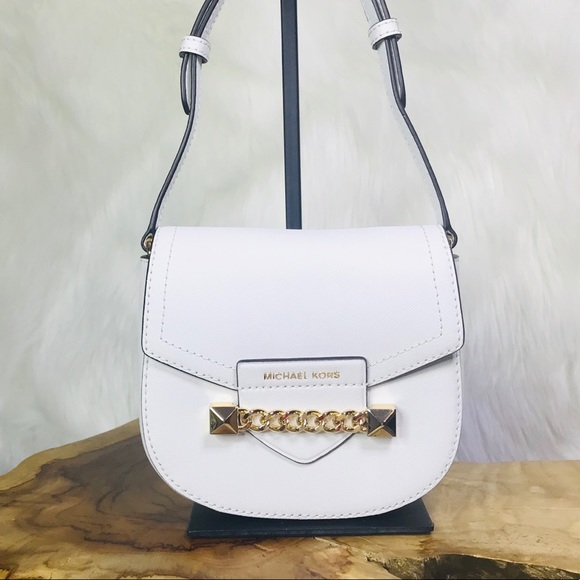6bc76f848aae64 Michael Kors Bags   Karla Small Saddle Crossbody Bag   Poshmark
